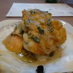 イタリア料理とワイン MARE VIGNA - ☆天然帆立と白子の香草バター(*^^)v☆