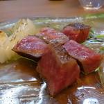 イタリア料理とワイン MARE VIGNA - ☆黒毛和牛炭火焼き(●^o^●)☆