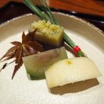 都わすれ - 種まで食べられるかぼすのデザート