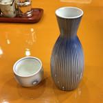 天ぷら 筧 - 燗酒