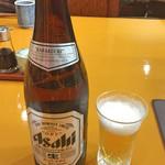 天ぷら 筧 - 瓶ビール