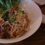 汁なし麺専門店 メンデザイン - 油そば 塩