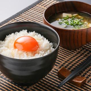TKG(卵かけご飯)食堂オープン