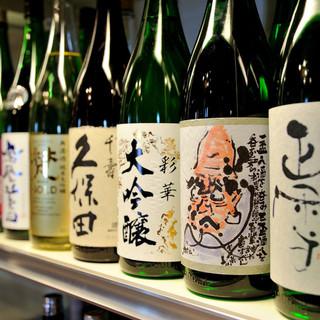 種類豊富な日本酒を飲み比べ♪100種類以上の飲み放題が魅力!