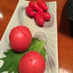炭火焼 みや澤 - 可愛いトマトのくせに、がつんと来るやん♪♪今時女子やね♡