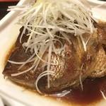 みさち屋 - 鯛のカブト煮