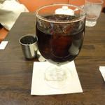ルポーゼすぎ - アイスコーヒーです