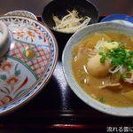 46585853 - 焼鳥丼定食(ミニ豚汁付)