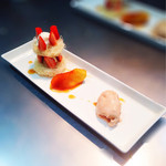 La Bonne table A・La・Carte - カダイフのミルフィーユ りんごのタタン