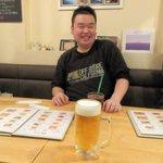 巡礼街道の洋食屋35 - 生ビール2016.01.18
