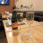 巡礼街道の洋食屋35 - スパークリングワイン2016.01.18
