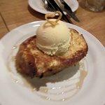 巡礼街道の洋食屋35 - フレンチトーストアイス添え2016.01.18