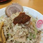 麺屋 多華味 - まぜそばのアップ〜(*^◯^*)❤️
