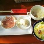 46590669 - 選べる前菜、サラダ、スープ