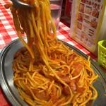 スパゲッティーのパンチョ - ナポリタン(大盛り)
