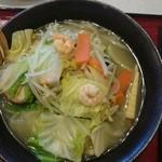 46593317 - 野菜たっぷりえび塩タンメン