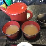 つる亀庵 - おろしそばでも蕎麦湯いただけます