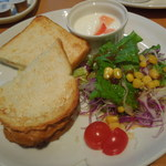 広島アンデルセン - ハムチーズサンドセット