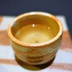 日本料理 楮山 - カブのスープ