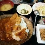 居食工房るりるり亭 - 料理写真:カツカレー600円