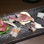 Shunsaisasa - 刺身盛り合わせ