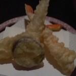 ホテルセイリュウ - 蟹天ぷら