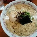 二十八代目 哲麺 - 豚骨醤油ラーメン500円
