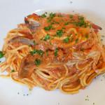 イタリアン オヨ - ワタリガニのトマトクリーム