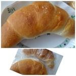 神戸屋ブレッズ - ◆塩パン(184円)・・他店よりは高めですけれど、バタータップリで美味しいのです。 塩加減も絶妙ですよ