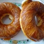神戸屋ブレッズ - ◆クリスピーリング(130円)・・デニッシュ生地のドーナツ。 これも甘さ控えめで美味しい。