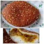 神戸屋ブレッズ - ◆豚バラカレードーナツ(184円)・・辛味を抑えたマイルドテイストのルーで食べやすいとか。