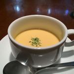 バツ - ランチのスープ