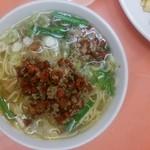 味仙 - 料理写真:塩台湾ラーメン