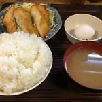 46607875 - チキンカツ定食(大盛り+90円)