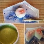 時雨亭 - 抹茶 生菓子付き