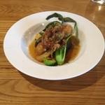 46608057 - スペイン産イベリコ豚の肩ロースと旬野菜のブレゼ(オーヴン煮込み)