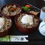 レストラン 至誠 やくも - やくも・割子三昧¥990(2015.06)