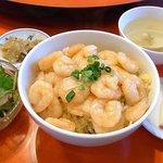 中国料理 王味 - 炒飯扒清炒蝦仁
