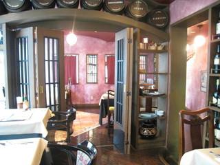 ドンナドーロ 品川インターシティー店 - 喫煙できる奥の部屋