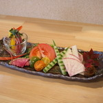 旬彩居酒屋 旬の宴 (しゅんのうたげ) - 気まぐれ旬の宴サラダ