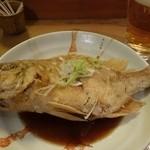 一手一つ - 料理写真:鯛の揚げ出し。まさかの1尾