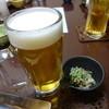 さんなべ - 料理写真:生ビール