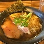 麺屋 一慶 - 2016/01 醤油らーめん 750円