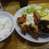 おかん - 料理写真:唐揚げ定食:550円