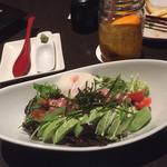 旬彩串焼 だん - マグロとアボカドサラダ丼