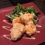 旬彩串焼 だん - 幸せになる海老マヨ