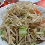 満福 - 野菜炒め650円