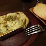 SLOTH - 缶ごとサーモンバジルチーズ焼き