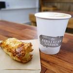 エアストリームガーデン - カフェモカ、ミートパイ