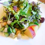 アンティカ オステリア カルネヤ - サラダも美味しい